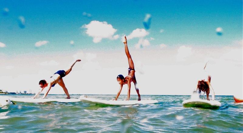Yoga SUP – sfaturi pentru inițiere