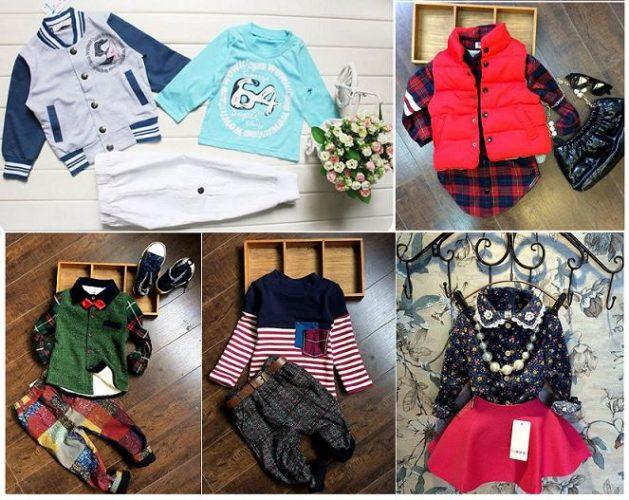 Alegerea hainutelor pentru copii